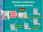 easier software management