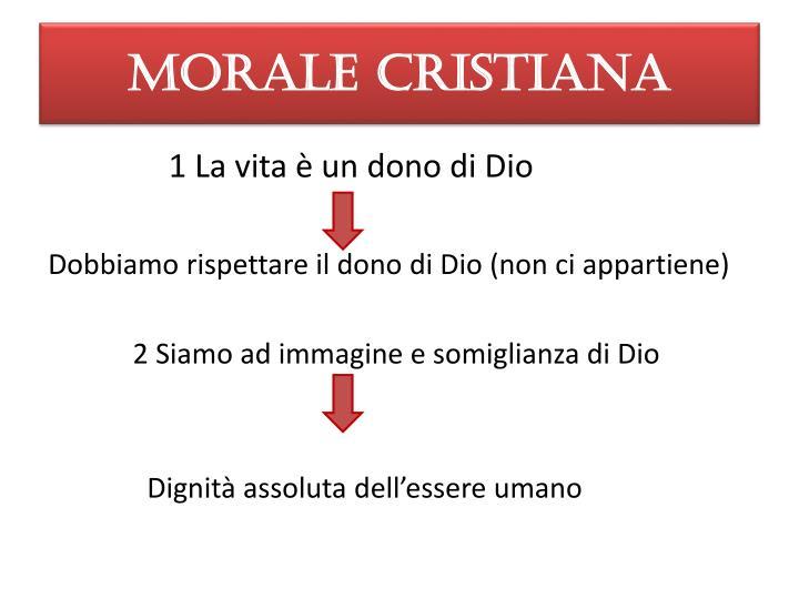 MORALE CRISTIANA