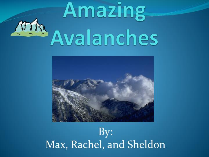 amazing avalanches n.