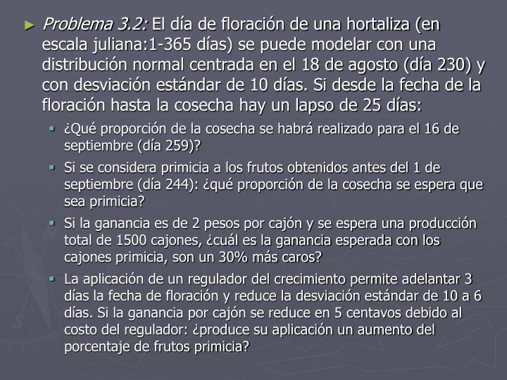 Problema 3.2: