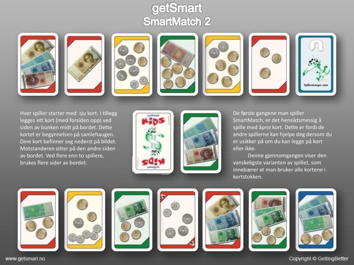 Getsmart smartmatch 21