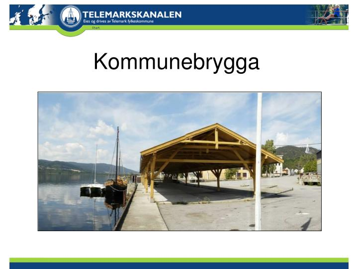 Kommunebrygga