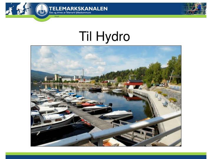 Til Hydro
