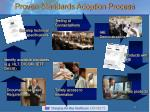 proven standards adoption process