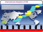 international adoption of ihe