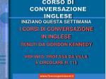 corso di conversazione inglese1