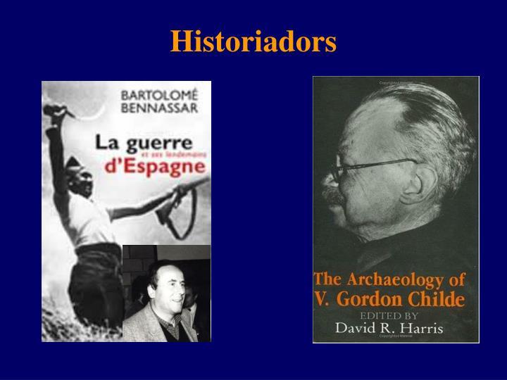 Historiadors