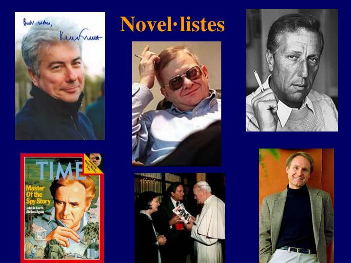 Novel·listes