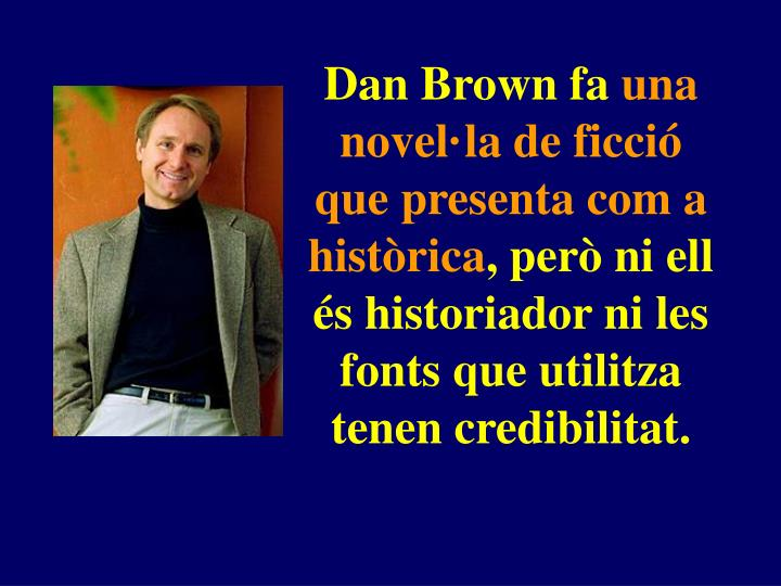 Dan Brown fa