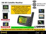 xm wx satellite weather