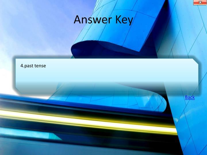Answer Key
