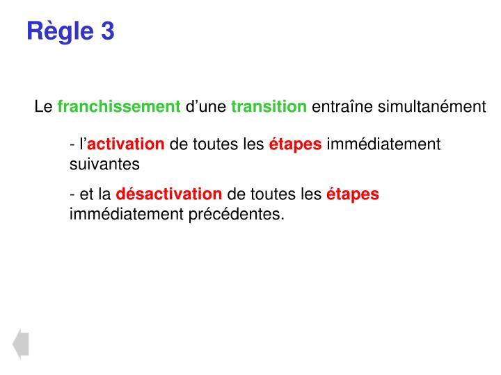 Règle 3