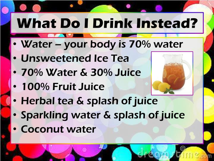 What Do I Drink Instead?