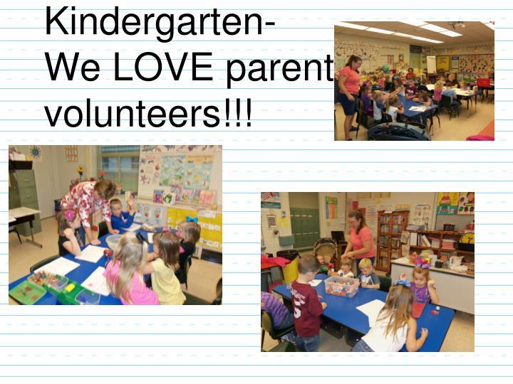 Kindergarten-