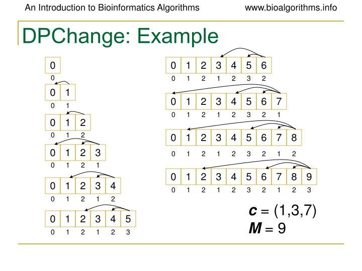 DPChange: Example