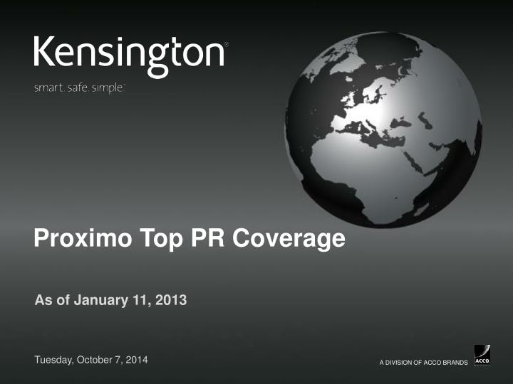 proximo top pr coverage n.