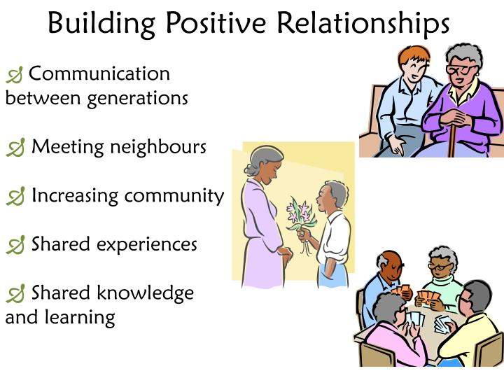 Building Positive Relationships