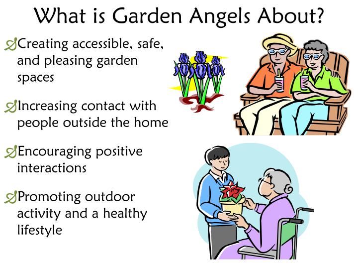 What is garden angels about1