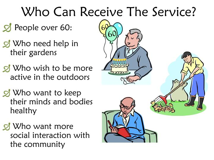 Who Can Receive The Service?
