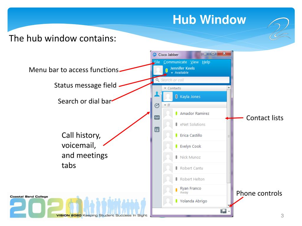 Cisco Jabber Chat History |VMware Communities
