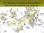 the yellowstone hot spot is responsible for the heat that created all this volcanism