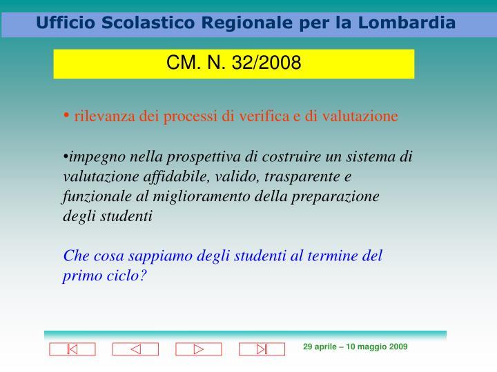 CM. N. 32/2008