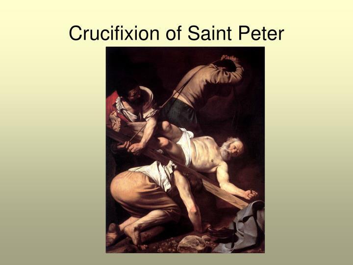 Crucifixion of Saint Peter