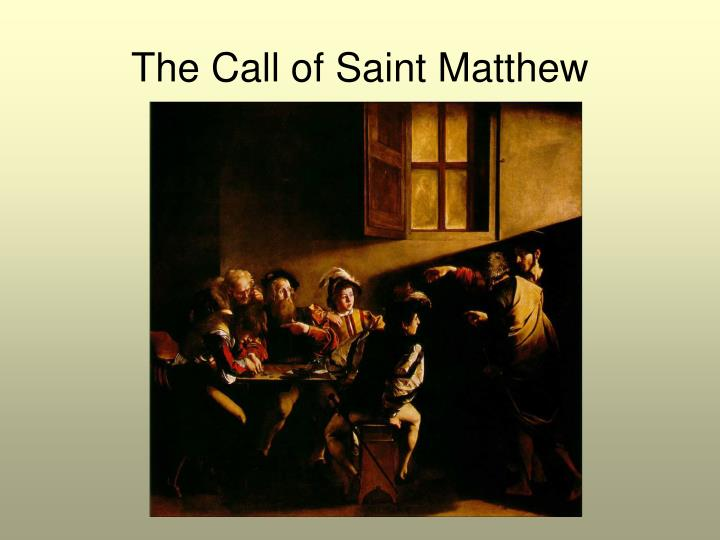 The Call of Saint Matthew