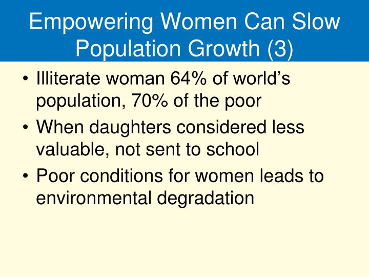Empowering Women Can Slow Population Growth (3)