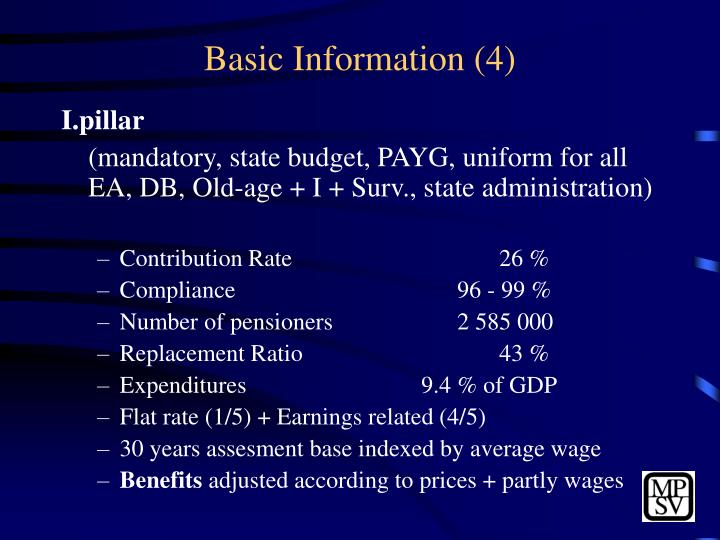 Basic Information (4)