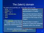 the lake s domain