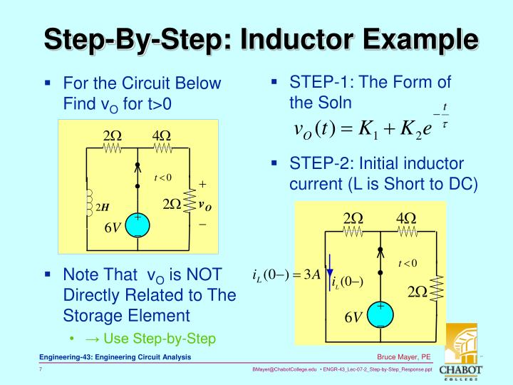 Step-By-Step: Inductor Example
