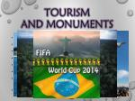 tourism and monuments
