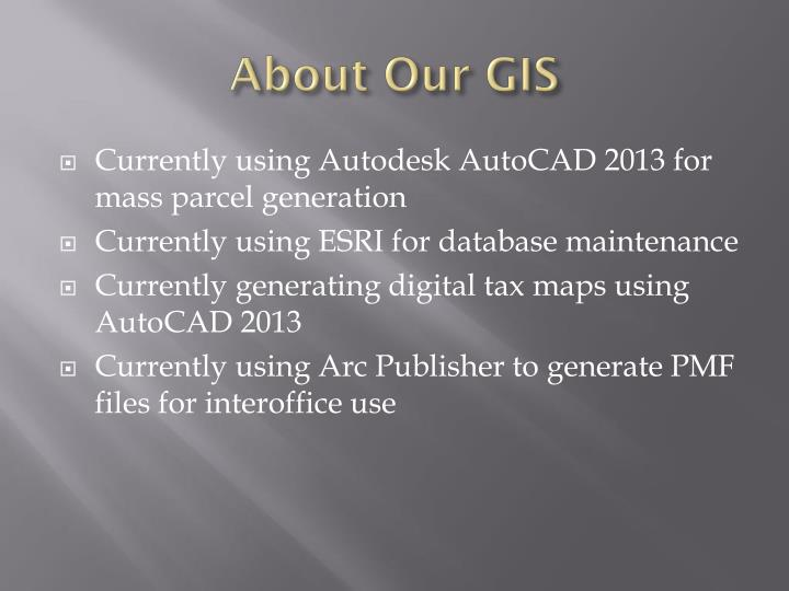 About Our GIS