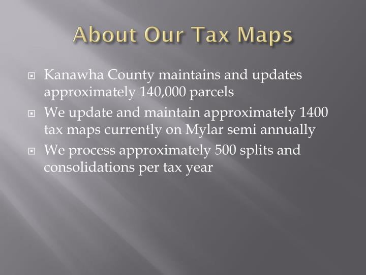 About Our Tax Maps