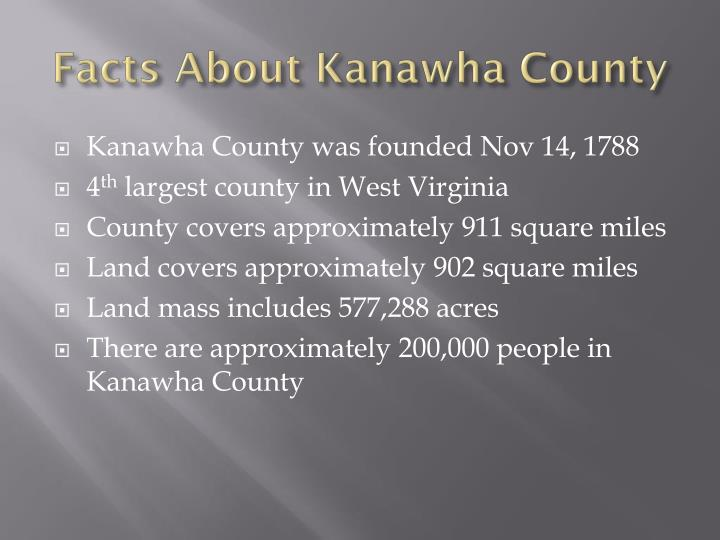 Facts About Kanawha County
