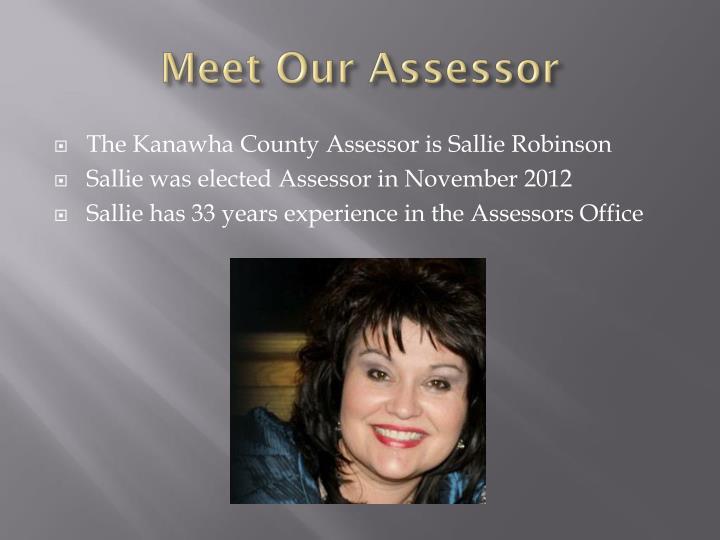 Meet our assessor
