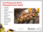 uno pizzeria grill s chopped power salad