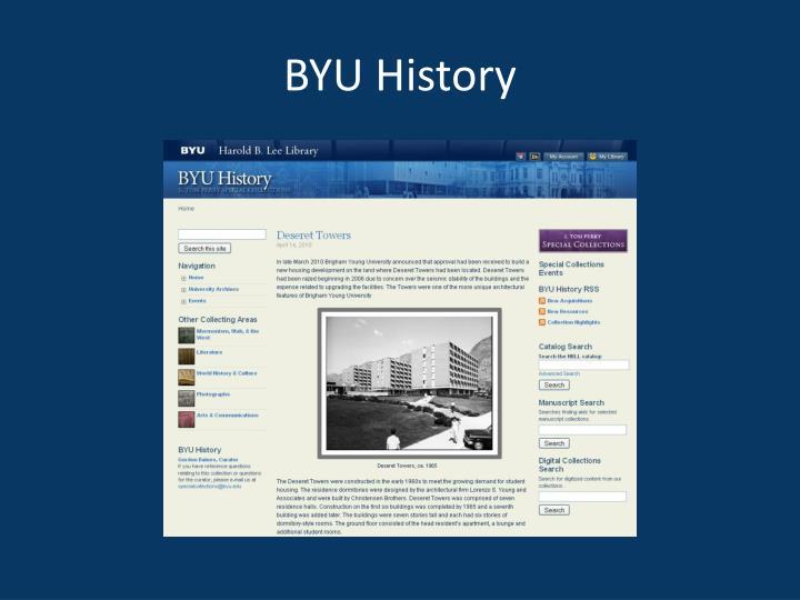 BYU History