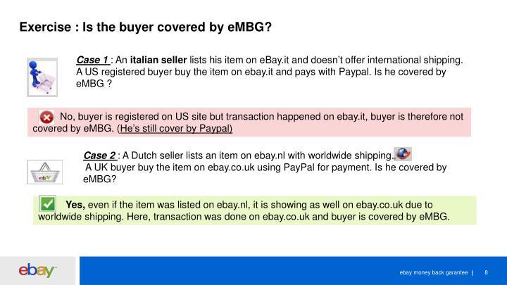 Ppt Embg Ebay Money Back Garantee Powerpoint Presentation Id