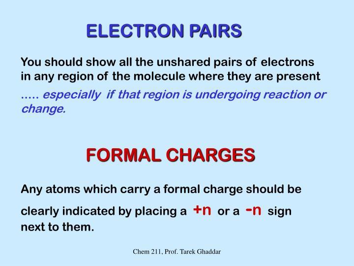 ELECTRON PAIRS