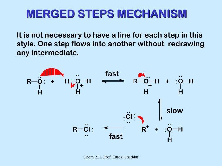 MERGED STEPS MECHANISM