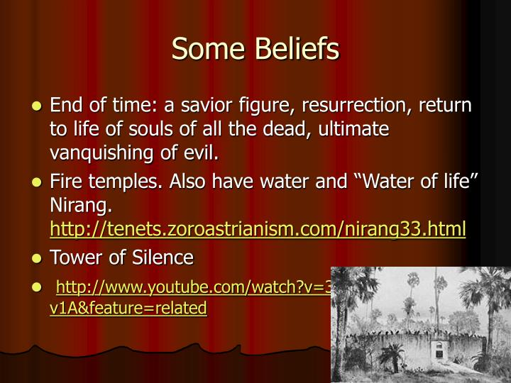 Some Beliefs