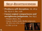 self righteousness1