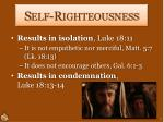 self righteousness2