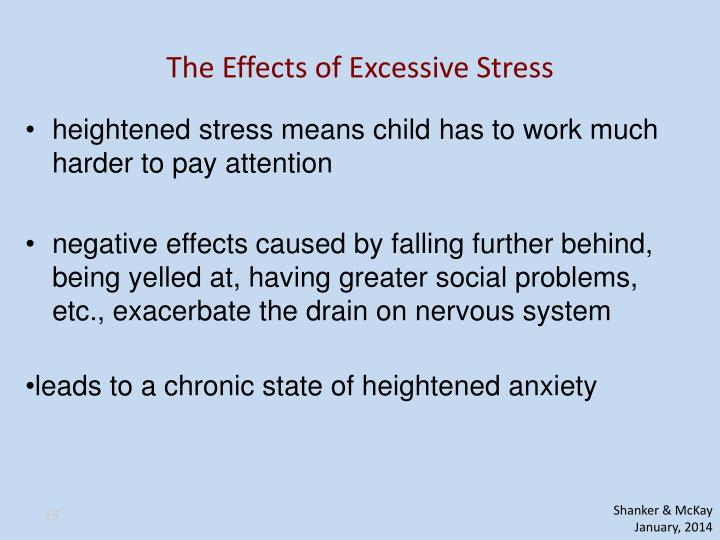 The Effects of Excessive Stress