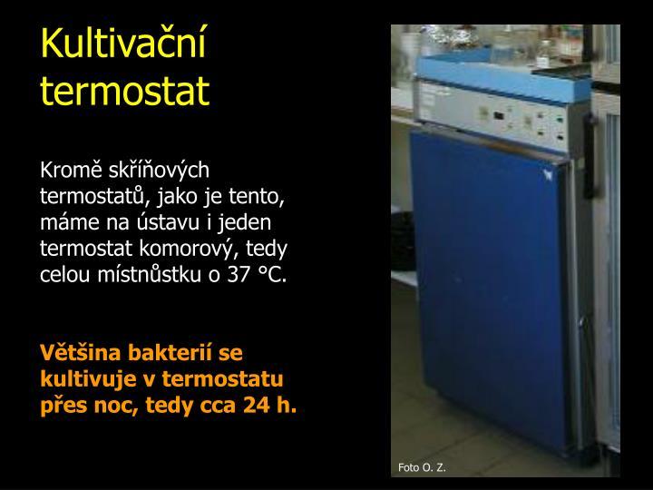 Kultivační termostat