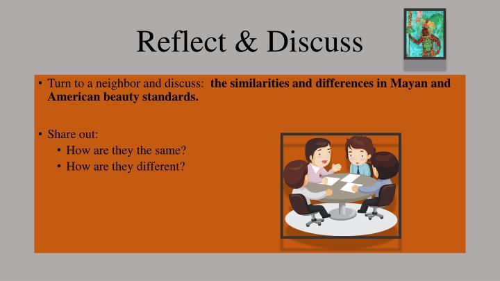 Reflect & Discuss