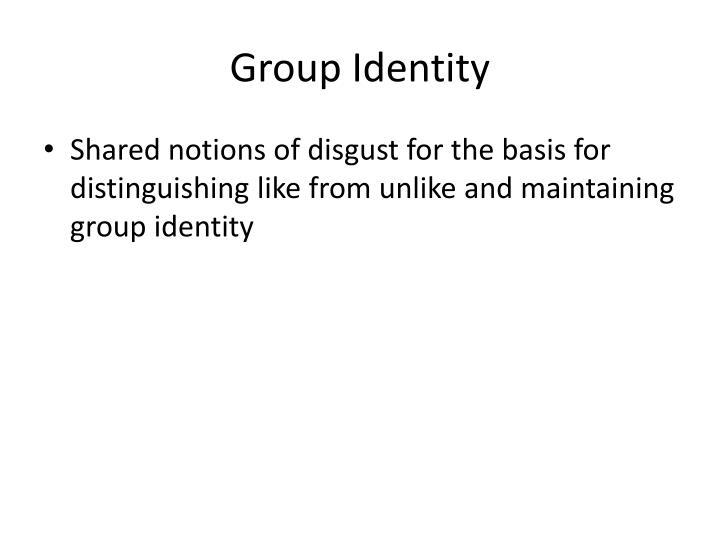 Group Identity