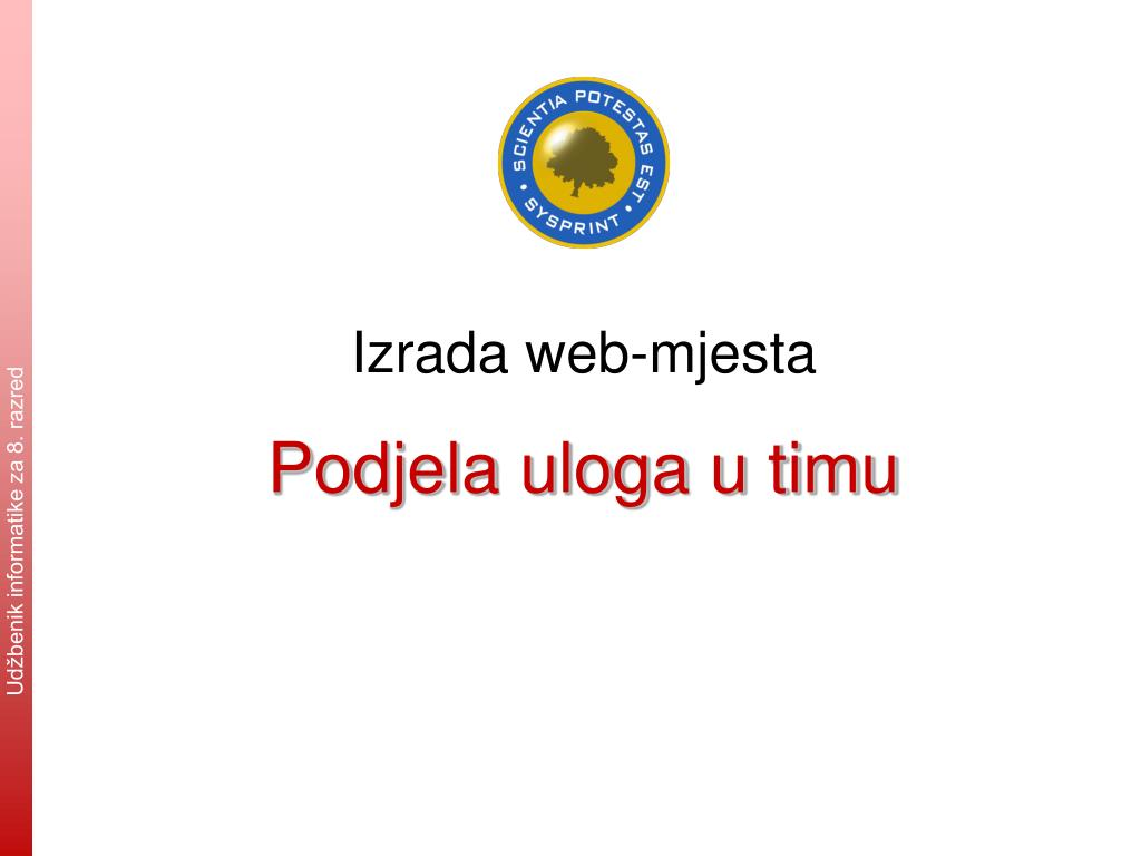 web mjesto za upoznavanje škole